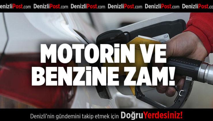 MOTORİN VE BENZİNE ZAM