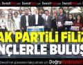 AK Partili Filiz Gençlerle Buluştu