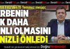 AK Partili Filiz'den 15 Temmuz Mesajı