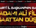 İşadamı Ali Filiz İnşaattan Düştü