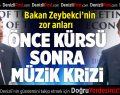 Ekonomi Bakanı Zeybekci'nin Zor Anları