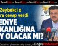 Zeybekci'den Belediye Başkanlığıyla İlgili İddialara Cevap