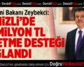 Bakan Zeybekci: Denizli'de 65 Milyon TL İşletme Desteği Sağlandı