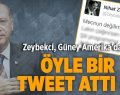 Zeybekci'den Anlamlı Tweet
