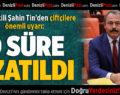 """Milletvekili Şahin Tin'den Çiftçilere Önemli Uyarı: """"O Süre Uzatıldı"""""""