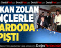 Başkan Osman Zolan Gençlerle Bilardoda Kapıştı