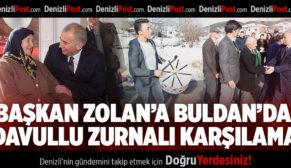 Başkan Osman Zolan Buldanlılar ile kucaklaştı
