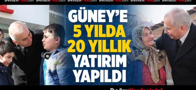 """Başkan Osman Zolan: """"Güney geleceğine güvenle bakıyor """""""