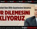 Başkan Zolan'dan Bild Gazetesine kınama