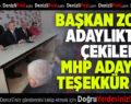 AK Parti Denizli İl Başkanı Filiz ve Başkan Zolan'dan MHP'ye ziyaret