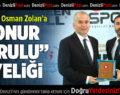 """Judo Federasyonu'ndan Başkan Zolan'a """"Onur Kurulu"""" Üyeliği"""