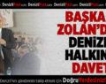 Başkan Osman Zolan'dan davet