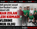Başkan Zolan'dan Gençlere Yeşil-Siyah Sürpriz