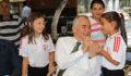 Başkan Osman Zolan, şampiyonlarla buluştu