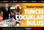 Başkan Osman Zolan, Tuncelili çocuklar ile buluştu