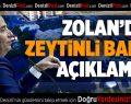 """Başkan Zolan: """"Beton yığınını kaldırdık"""""""