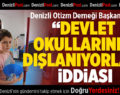 Denizli Otizm Derneği Başkanı'ndan 'Devlet okullarında dışlanıyor' iddiası