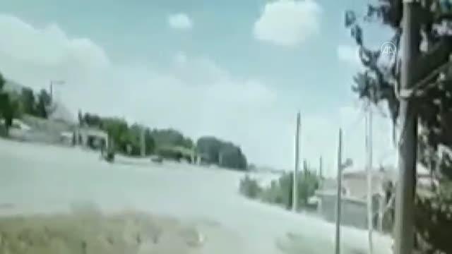 otomobil ile carpisan motosikletteki genc kiz 2 14189559 o - BAKLAN'DA FECİ KAZA 1 ÖLÜ BİR YARALI