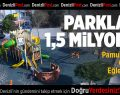 Pamukkale'de Parklara 1,5 Milyon TL
