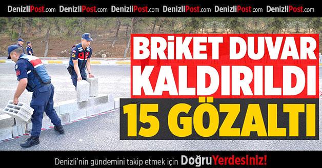 JANDARMA BARİKATI KALDIRDI