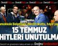 Pamukkale Belediyesi mevlit okuttu, hayır yaptı