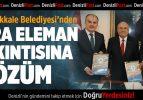 Pamukkale Belediyesi'nden Ara Eleman Sıkıntısına Çözüm