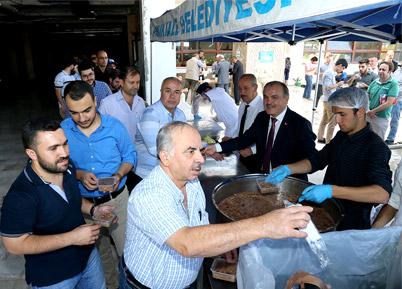 Pamukkale Belediyesi'nden 2 Bin Kişilik Aşure Hayrı