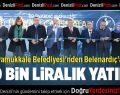 Pamukkale Belediyesi'nden Belenardıç'a 700 Bin Liralık Yatırım