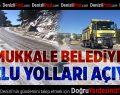 Pamukkale Belediyesi Buzlu Yolları Açıyor