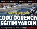 Pamukkale Belediyesi'nden 2 Bin Öğrenciye Eğitim Yardımı