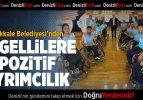 Pamukkale Belediyesi'nden Engellilere Pozitif Ayrımcılık