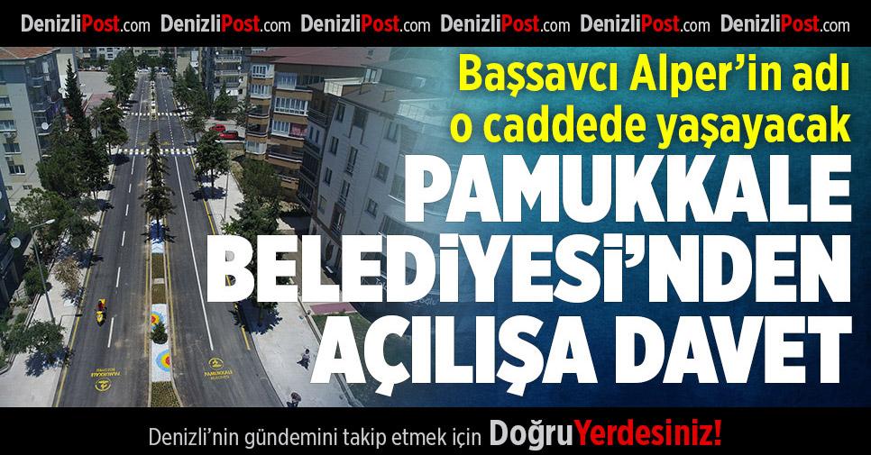 Başsavcı Mustafa Alper'in Adı O Caddede Yaşayacak