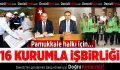 Pamukkale'den 16 Kurumla İşbirliği
