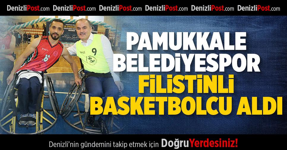 Pamukkale Belediyespor Filistinli Basketbolcu Aldı