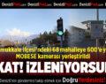 Pamukkale İlçesi MOBESE Kameralarıyla Donatıldı