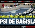 Pamukkale Belediye Meclisinden Anlamlı Karar