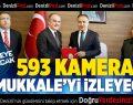 593 Kamera Pamukkale'yi İzleyecek