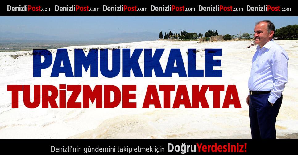 Pamukkale Turizmde Atakta