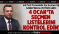 AK Parti Pamukkale İlçe Başkanı Uğur Gökbel'den seçmenlere çağrı