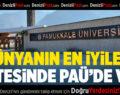 Dünyanın En İyi Üniversiteleri Listesinde PAÜ'de Var