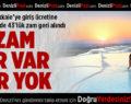 Pamukkale'ye Giriş Ücretinde Yapılan Zam Geri Alındı