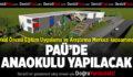 PAÜ'de Anaokulu Projesi