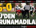 PAÜ Korumalı Futbol Takımından Farklı Galibiyet