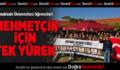 PAÜ Öğrencileri Mehmetçik İçin Tek Yürek!