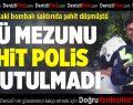 PAÜ Mezunu Şehit Polis Unutulmadı