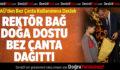PAÜ'den Bez Çanta Kullanımına Destek