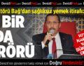 PAÜ Rektörü Bağ'dan Sağlıksız Yemek İtirafı