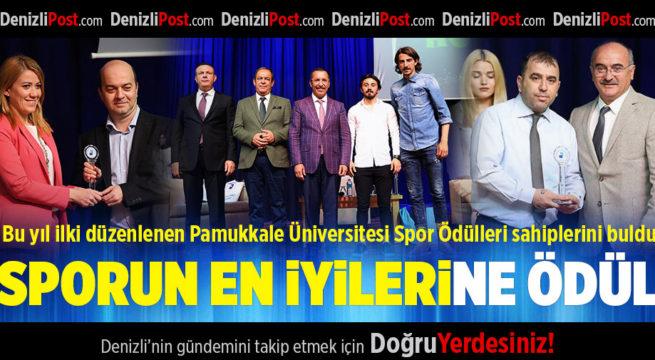Pamukkale Üniversitesi Spor Ödülleri Sahiplerini Buldu