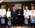 PAÜ'lü Öğrenciler Yarışmadan Madalyalarla Döndü