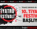 PAÜ'de 10. Tiyatro Festivali Başlıyor!
